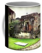 Guatemalan Church Courtyard Ruins Coffee Mug