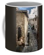 Gubbio Through The Window Coffee Mug
