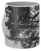 Guggenheim And Trees In Black And White Coffee Mug