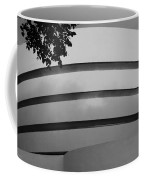 Guggenheim In The Round In Black And White Coffee Mug