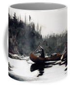 Guides Shooting Rapids Coffee Mug by Winslow Homer