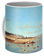 Guigou's Washerwomen On The Banks Of The Durance Coffee Mug