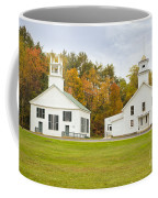 Guildhall Village Historic District In Autumn Vermont Coffee Mug