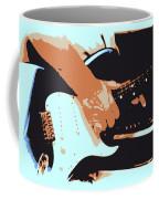 Guitar And Man Coffee Mug