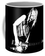 Fender Guitar Girl  Coffee Mug