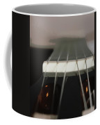 Guitar Neck Fading Out Coffee Mug