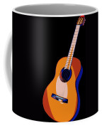 Guitar Of Colors Coffee Mug