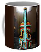 Guitar Vase Coffee Mug