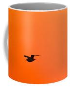 Gull At Sunset Coffee Mug