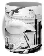 Gull In Flight Coffee Mug