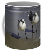 Gulls On The Beach Coffee Mug