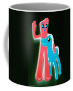 Gumby And Pokey B F F Negative Coffee Mug