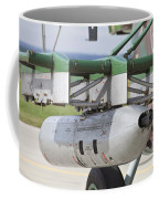 Gun Pod On A Slovakian Mi-17 Helicopter Coffee Mug
