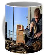 Gunners Mate Sorts Ammunition Coffee Mug