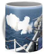 Gunners Mates Test Fire The Ships Coffee Mug
