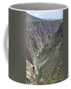 Gunnison River At The Base Of Black Canyon Of The Gunnison Coffee Mug