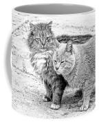 Gutter Kitties Four Coffee Mug