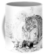 Gutter Kitties Seven Coffee Mug