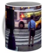 Crossing The Street - Traffic Coffee Mug