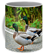 Guys Day Out On The Town Coffee Mug