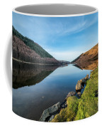 Gwydyr Forest Lake Coffee Mug by Adrian Evans
