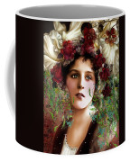 Gypsy Girl Of Autumn Vintage Coffee Mug