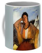 Gypsy With A Cigarette Coffee Mug