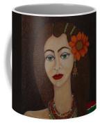 Gypsy With Green Eyes Coffee Mug