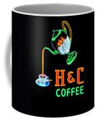 H And C Sign Coffee Mug