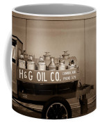 H And G Oil Company In Sepia Coffee Mug