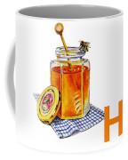 H Art Alphabet For Kids Room Coffee Mug