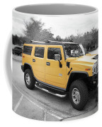 Hummer H2 Series Yellow Coffee Mug