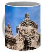 Habsburg Gate Details In Budapest Coffee Mug