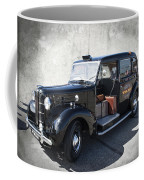 Hackney Carriage Austin Fx3 Of London C. 1955 Coffee Mug