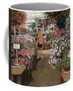 Haefner's Garden Center Impatiens Coffee Mug