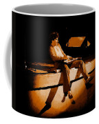 Hagar Rocking In Spokane On 2-2-77 Coffee Mug