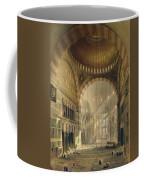 Haghia Sophia, Plate 24 Interior Coffee Mug by Gaspard Fossati