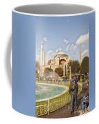 Hagia Sophia Editorial Coffee Mug by Antony McAulay
