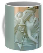 Haida Sculpture Closeup In Canadian Museum Of Civilization In Gatineau-quebec-canada Coffee Mug