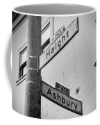 Haight And Ashbury Coffee Mug