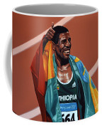 Haile Gebrselassie Coffee Mug by Paul Meijering