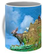 Haines Junction Landmark-yt Coffee Mug