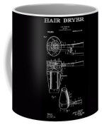 Hair Dryer 2 Patent Art 1911 Coffee Mug