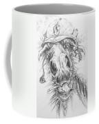 Hair-ied Horse Soilder Coffee Mug