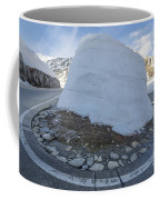 Hairpin Bend With Snow Coffee Mug