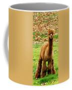 Hairy Brown Gumby Aka Brown Alpaca Coffee Mug