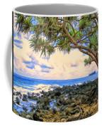 Hala Trees At Ka'anae Point Coffee Mug