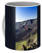 Haleakala Sunrise On The Summit Maui Hawaii - Kalahaku Overlook Coffee Mug by Sharon Mau