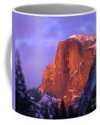 Half Dome Alpen Glow Coffee Mug