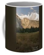 Half Dome And The Yosemite Valley Coffee Mug